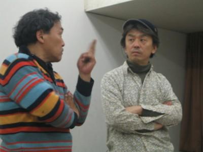 조선어로 노래 연습하는 날의 사쿠리이씨와 오오쿠마씨